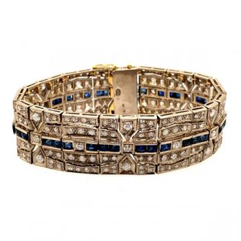 Brillant Armband - Gold, Brillant - 1930