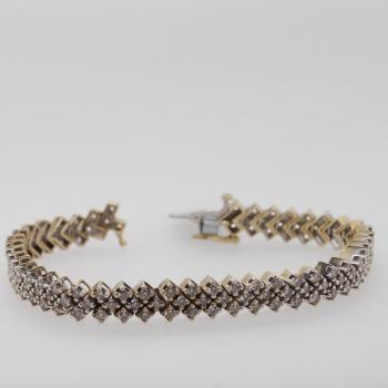 Brillant Armband - Gold, Brillant
